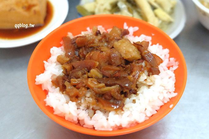 台中大雅︱周 爌肉飯 炒麵.好吃爌肉飯、肉燥飯推薦,只要銅板價就能讓你吃飽飽 @QQ的懶骨頭