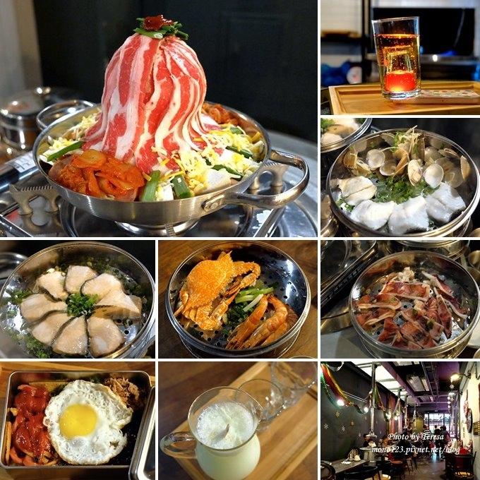 台中西屯︱一桶1 tone 韓式新食.新菜單登場,全天候供應的商業午餐和五層蒸氣鍋,餐點選擇性變多也更划算 @QQ的懶骨頭
