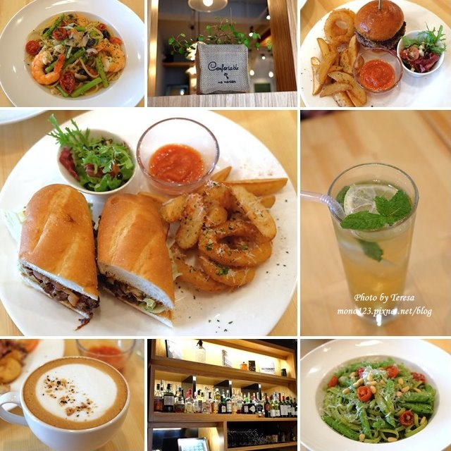 台中西屯︱SESSION 隨選餐館.精明商圈裡的小餐館,午餐走輕食風,有漢堡、義大利麵,晚餐加碼燉飯、排餐,份量精緻有水準 @QQ的懶骨頭