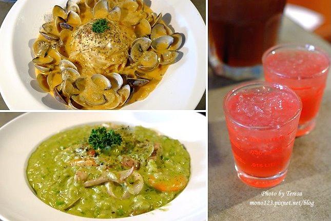 台中北區︱HUN 混.一中商圈超人氣義式餐廳,有工業風的復古用餐環境,和好吃的義大利麵 @QQ的懶骨頭