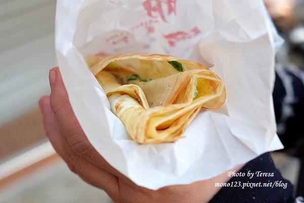 【逢甲商圈】明倫蛋餅.逢甲超人氣小吃,像可麗餅的蛋餅,甜甜的滋味很特別 @QQ的懶骨頭