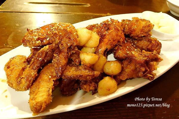 【逢甲夜市小吃】朴大哥的韓式炸雞.逢甲超人氣小吃,等到天荒地老也甘願 @QQ的懶骨頭