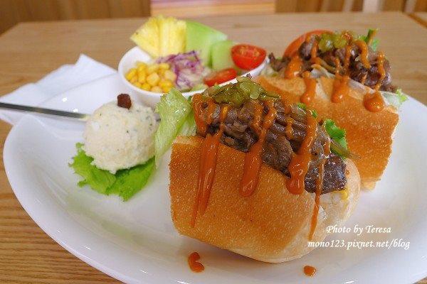 【台中西區.早午餐】好迷咖啡 ho.me cafe.餐點好、服務也好 @QQ的懶骨頭