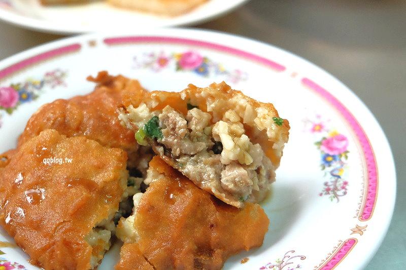 台中清水︱清水(白)燒炸粿.傳承三代的好吃炸粿,分上午和下午兩場,酥脆口感很迷人,近清水派出所 @QQ的懶骨頭