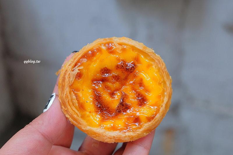 澳門︱瑪嘉烈蛋塔.澳門人氣葡式蛋塔,可是這天吃到的餅皮好硬 @QQ的懶骨頭