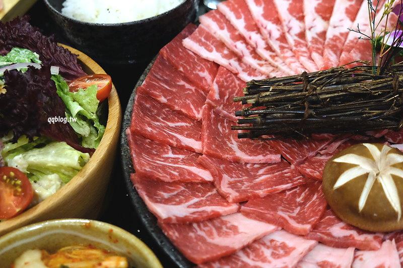 台中西區︱澄居烤物燒肉.有乾燥花風格的燒肉店,餐點表現中規中矩,近勤美誠品、科博館 @QQ的懶骨頭