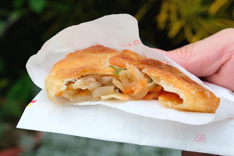 台中大雅︱大雅蘿蔔絲餅.營業超過20年的排隊小吃,皮薄餡多滋味好,大雅人氣小吃推薦 @QQ的懶骨頭