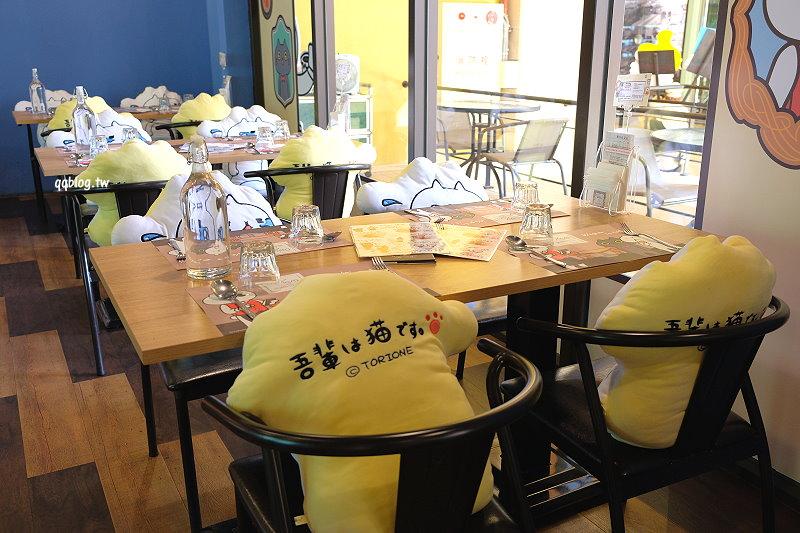1537196475 68314db127deaf1b8ef6c0dfb8f5677c - 台中后里︱黛麗佐手義式餐廳.反應過激的貓Line貼圖也有主題餐廳啦,期間限定只營業到12月底,就在麗寶outlet