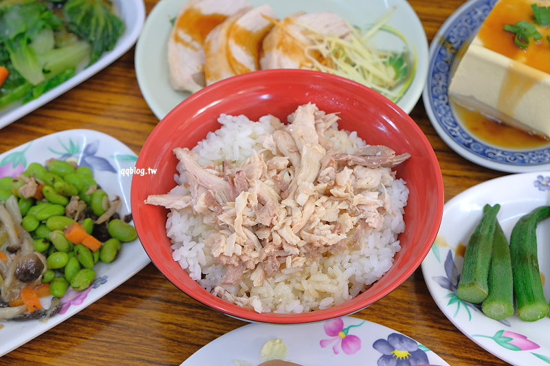 台中大雅︱張記美食館 火雞肉飯.火雞肉嫩味道鮮,菜色選擇性多,平價美食推薦 @QQ的懶骨頭