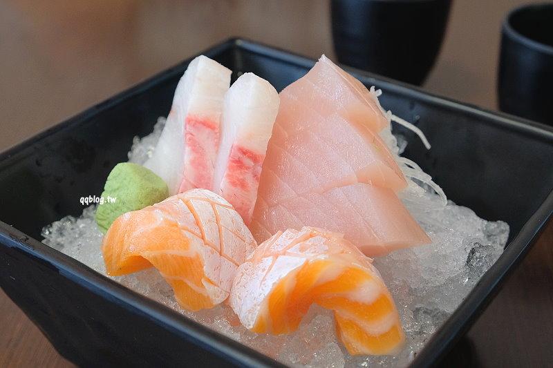 台中大雅︱久葉壽司.住宅區裡的低調日式料理,食材新鮮用料實在,超厚生魚片滿足口慾,大雅日式料理推薦 @QQ的懶骨頭