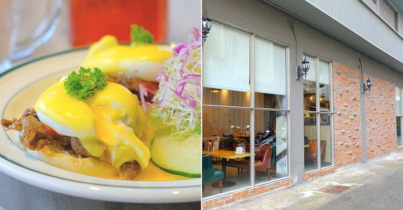 台中北區︱奧樂美特  Olimato Junior.奧樂美特二店,美式傳統早午餐結合台式餐點夠跳tone,50年老宅新風貌,美式餐廳的新創意 @QQ的懶骨頭