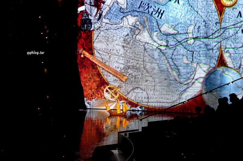 澳門︱新濠天地水舞間.超壯觀的水上匯演,節目精彩值得一看 @QQ的懶骨頭
