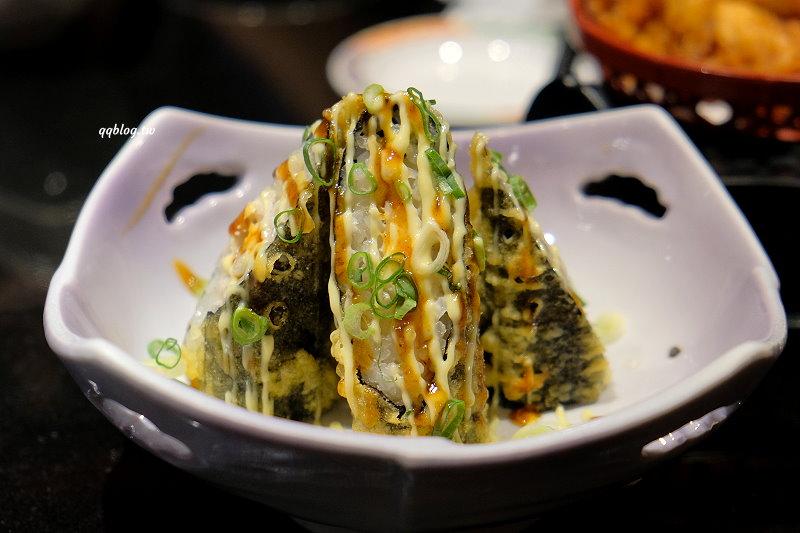 台中南屯︱大漁迴轉壽司.點餐式迴轉壽司,餐點直接送到桌前來,每一口都吃得到新鮮 @QQ的懶骨頭