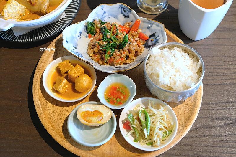 台中北屯︱大城享泰食smoetimes.一個人也可以享用的泰式料理,想吃泰式料理終於不用再揪人了,大坑餐廳推薦 @QQ的懶骨頭