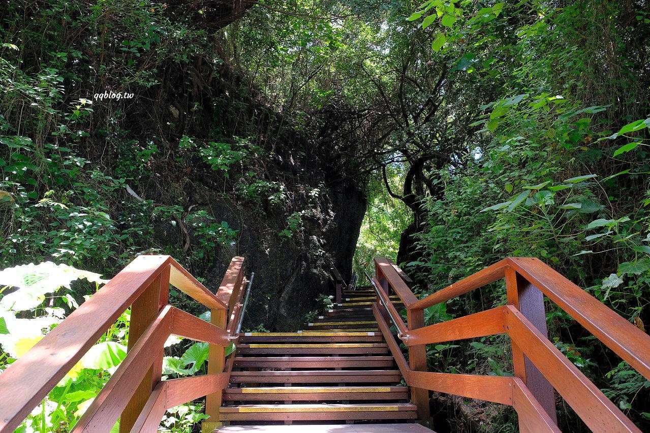 屏東琉球︱山豬溝生態步道.保留原始森林容貌的自然景觀步道,全長400公尺,輕鬆好走 @QQ的懶骨頭