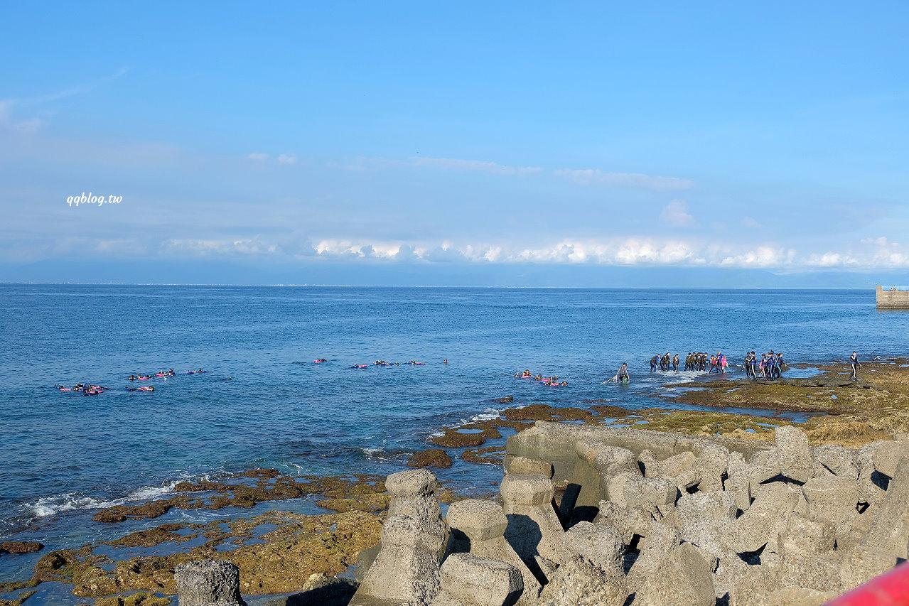 屏東琉球︱花瓶石.礁岩地形特殊景觀,也是觀看海龜和浮潛的地點 @QQ的懶骨頭