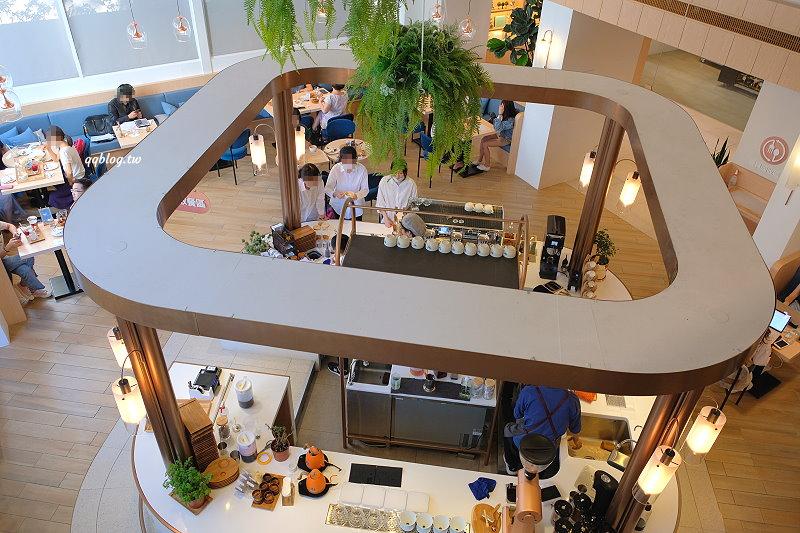台中南屯︱kafeD德勒斯登河岸咖啡(滴咖啡).公益商圈森林系咖啡館,創意年輪蛋糕,環境舒適的網美打卡咖啡館 @QQ的懶骨頭