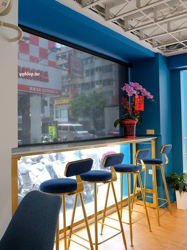 台中北區︱香緹果子咖啡館.台中超人氣千層蛋糕搬新家,一星期營業五天,終於不用等到假日才吃得到了 @QQ的懶骨頭