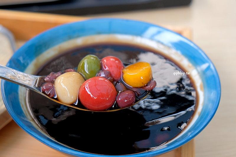 台中豐原︱蔗會豆花.在古早味的土角厝裡吃甜品,夏天吃冰、冬天也有熱食、炸物,四季都可以品嚐 @QQ的懶骨頭