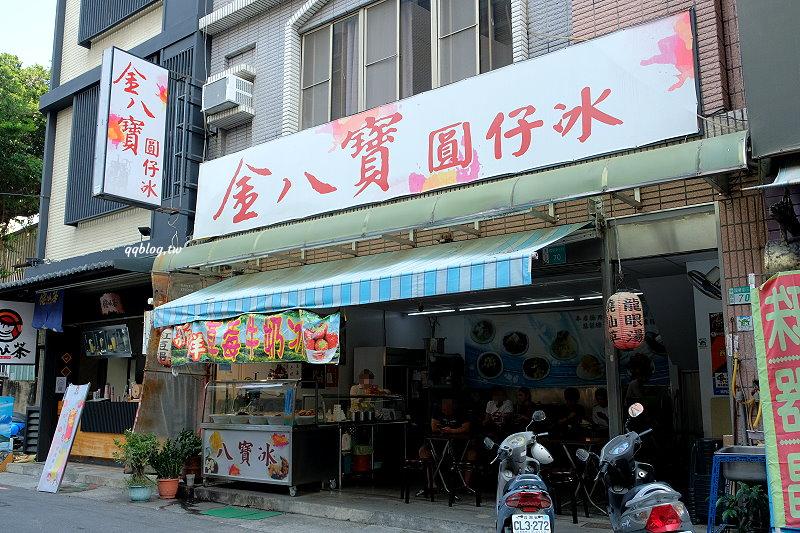 台南中西區︱金八寶 圓仔冰.香甜的草莓、Q軟的湯圓,吃進嘴裡的是一種幸福 @QQ的懶骨頭