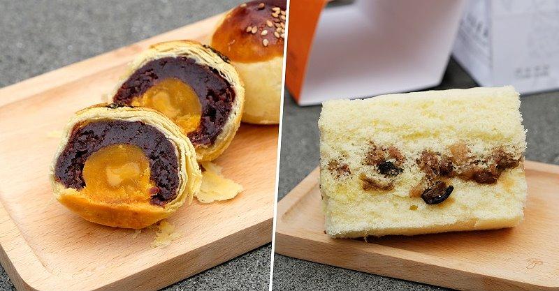 台中梧棲︱林異香齋.梧棲老街上傳承百年的古早味餅店,鹹蛋糕是招牌,海線美食、伴手禮推薦 @QQ的懶骨頭