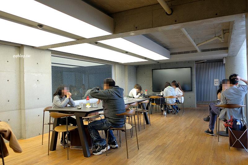 台南安平︱深藍咖啡館.有LV界的千層蛋糕稱號,清水模建築寬敞氣派,台南甜點推薦 @QQ的懶骨頭