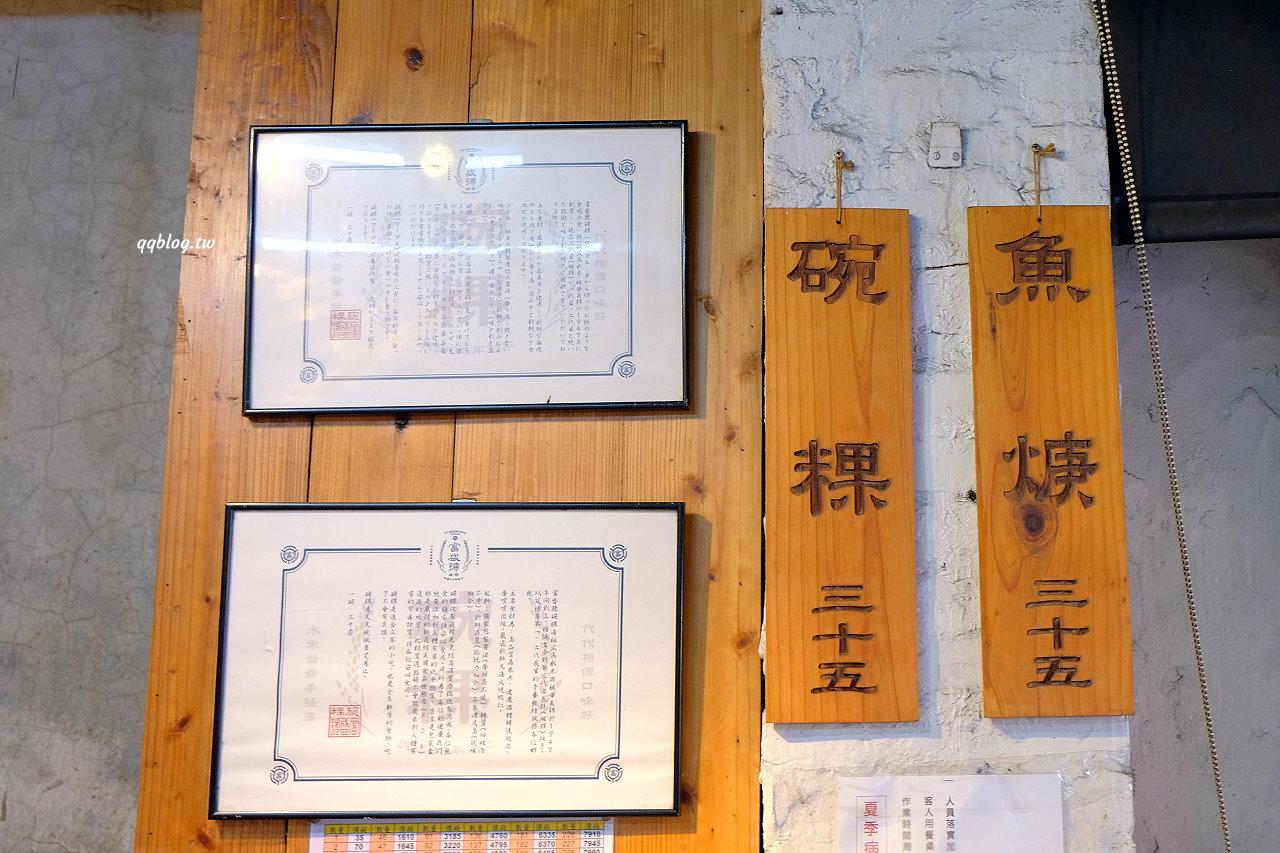 台南中西區︱富盛號碗粿.一賣70年的古早味小吃,一碗魚焿+碗粿就可以很滿足,永樂市場美食推薦 @QQ的懶骨頭