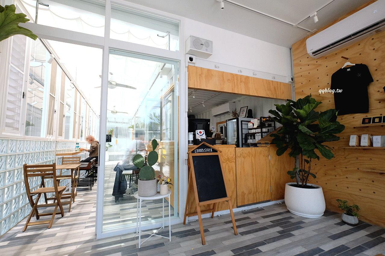 台中北屯︱舊社咖啡 Good Shot Cafe.白色貨櫃屋清新風格的咖啡甜點店,近北屯COSTCO @QQ的懶骨頭