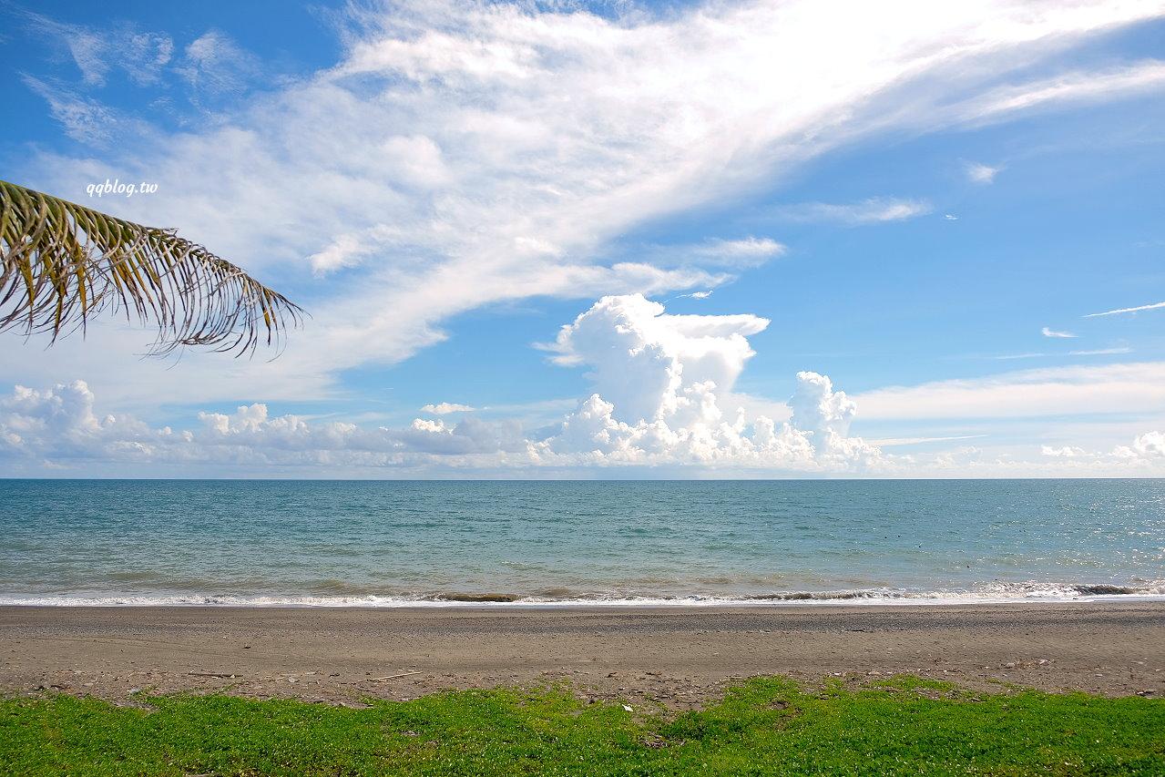 屏東枋山︱愛琴海岸海景休閒渡假園區.180度無敵海景,觀賞夕陽、拍照打卡都很棒的景觀餐廳 @QQ的懶骨頭