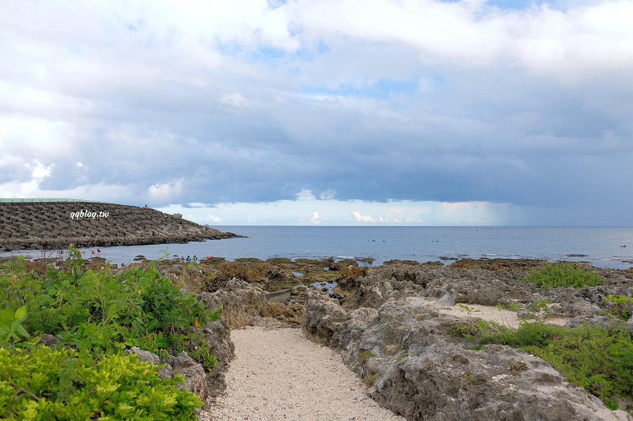 屏東恆春︱後壁湖潮間帶&小巴里島岩.廣大平緩的珊瑚礁海蝕平台,適合親子同遊 @QQ的懶骨頭
