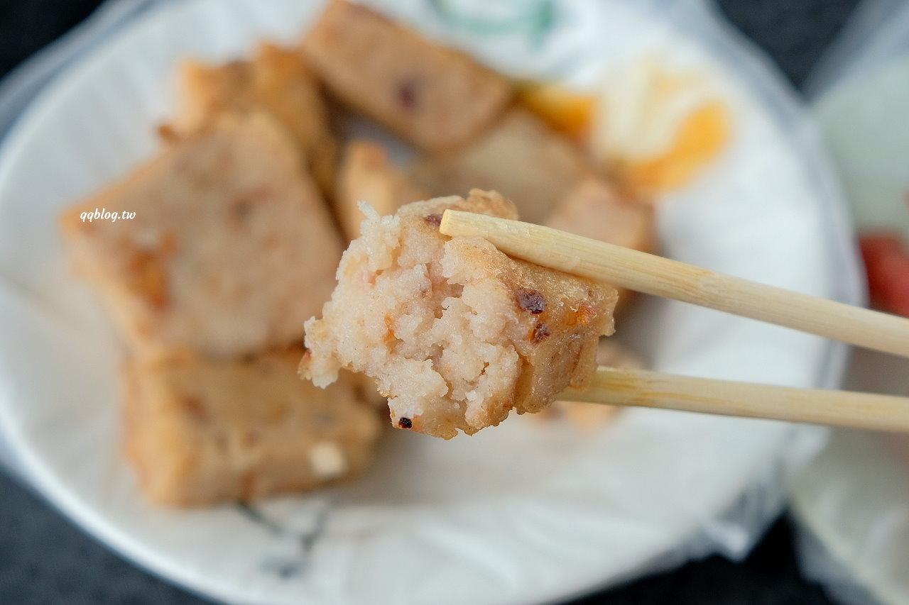 屏東恆春︱小觀山鹹粿.古早味鹹粿配香腸,180度海景看夕陽 @QQ的懶骨頭