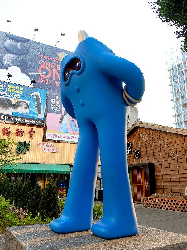 台南南區︱藍晒圖文創園區.3D立體藍晒圖,還有許多微型文創工作室,好拍又好逛,台南景點推薦 @QQ的懶骨頭